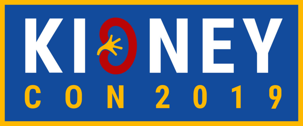 KidneyCon2019 Logo